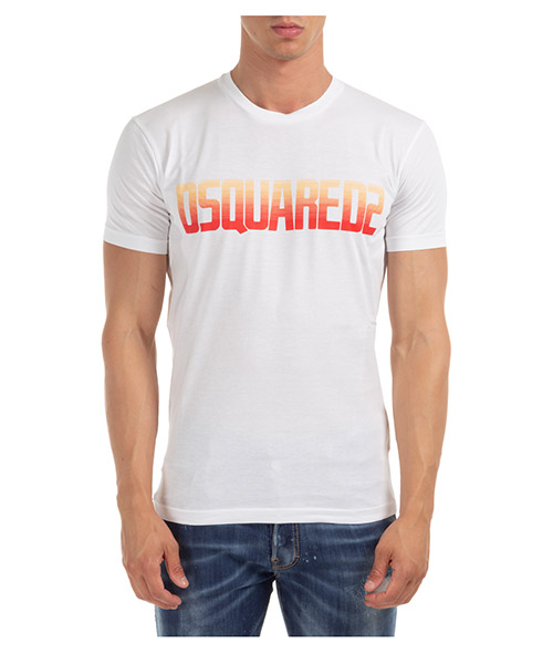 T-shirt Dsquared2 S71GD0943S22427100 bianco