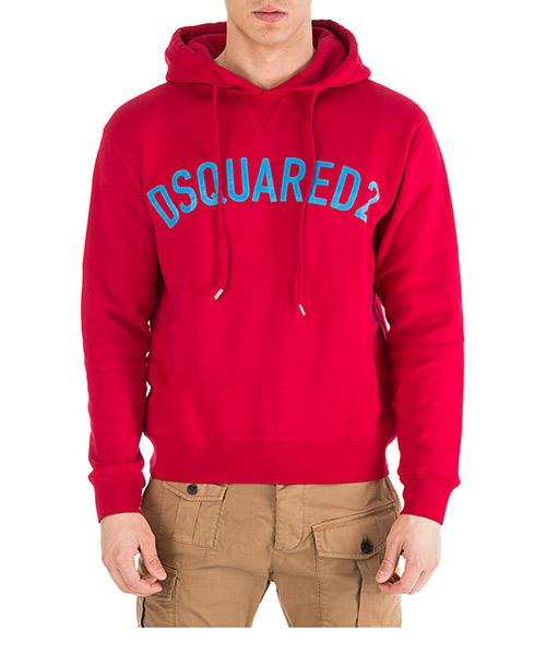 Sudadera con capucha  Dsquared2 S71GU0292S25030254 rosso