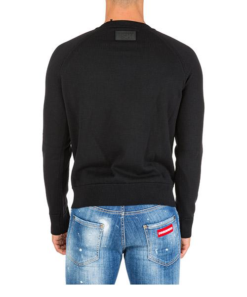 Men's crew neck neckline jumper sweater pullover tape secondary image