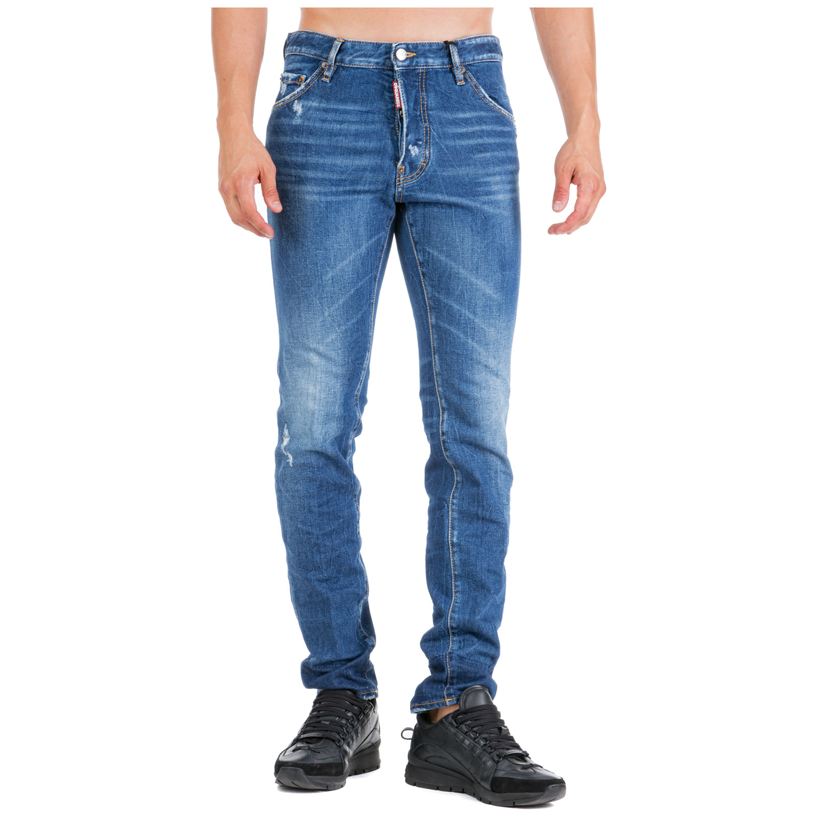 Men's jeans denim cool guy