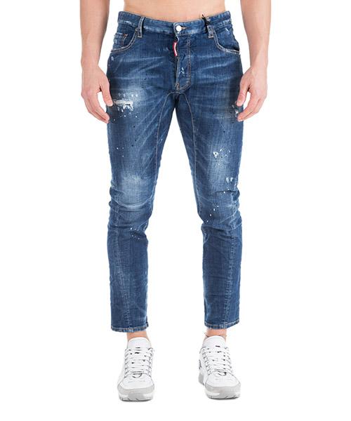 Jeans Dsquared2 Tidy biker S71LB0499S30342470 blu