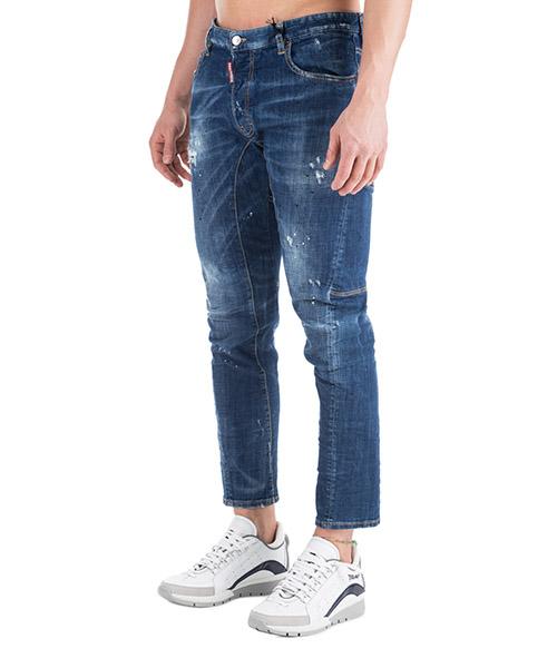 Men's jeans denim tidy biker secondary image