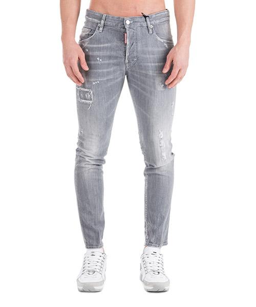 Jeans Dsquared2 Skater Swallow S71LB0532S30260852 grigio