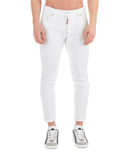 Jeans Dsquared2 Skater S71LB0595S39781100 bianco