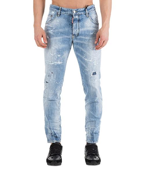 Jeans Dsquared2 Skater S71LB0626S30309470 azzurro ... e63383ae3c8