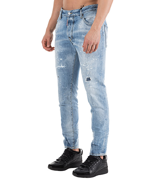 Herren jeans denim skater secondary image