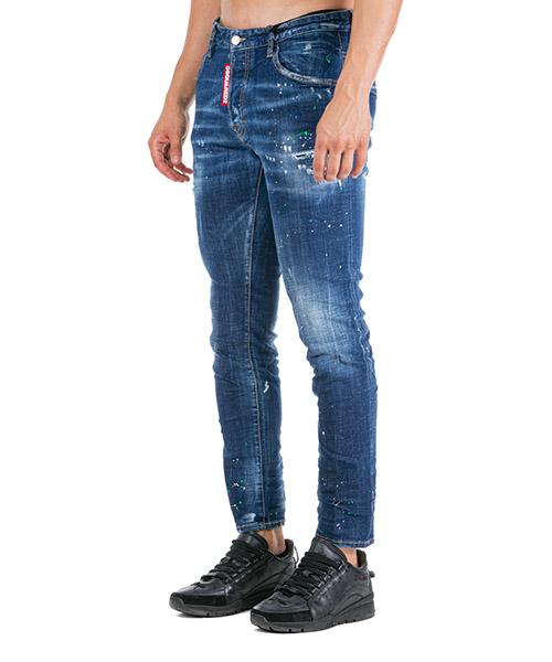 Vaqueros jeans denim de hombre pantalones skater secondary image