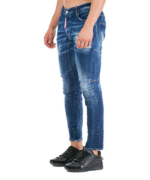 Vaqueros jeans denim de hombre pantalones tidy biker secondary image
