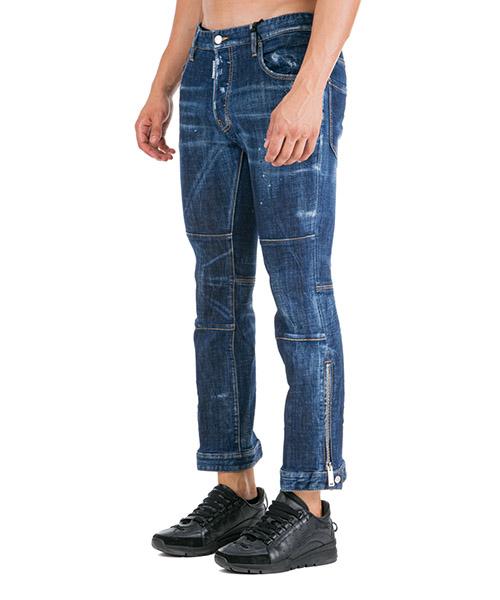 Vaqueros jeans denim de hombre pantalones ski biker secondary image
