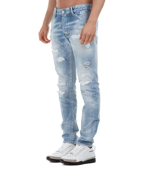 Vaqueros jeans denim de hombre pantalones rainbow cool guy secondary image