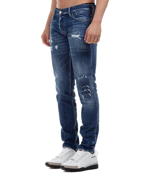 Vaqueros jeans denim de hombre pantalones knee patch secondary image