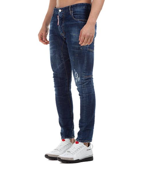 Vaqueros jeans denim de hombre pantalones tidi biker secondary image