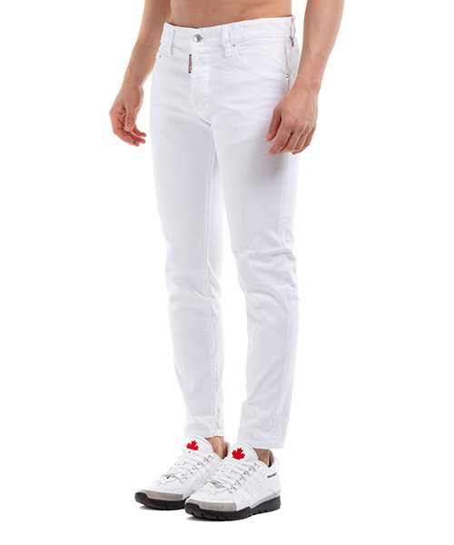 Vaqueros jeans denim de hombre pantalones skinny dan secondary image