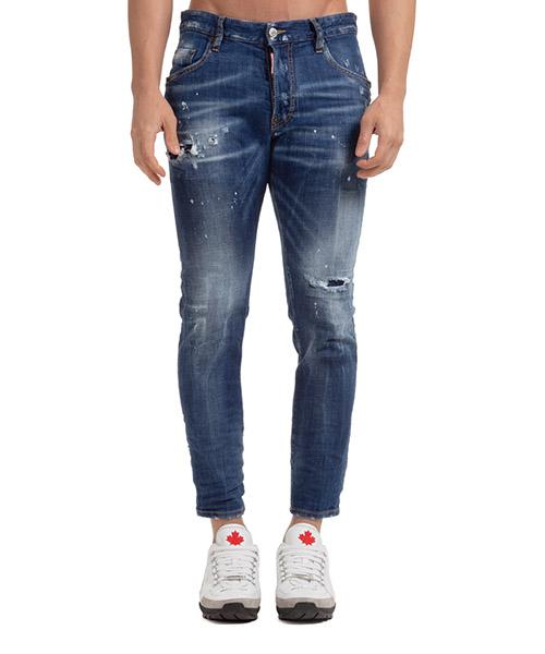 Jeans Dsquared2 skater S71LB0774S30342470 blu