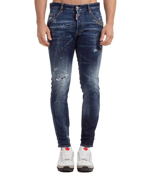 Jeans Dsquared2 skater S71LB0780S30664470 blu