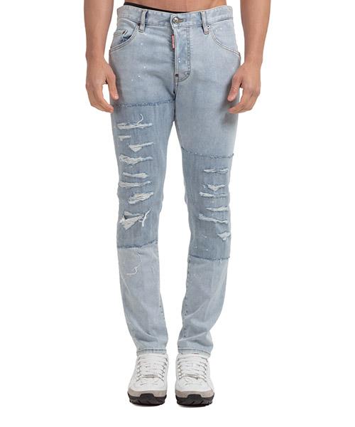 Jeans Dsquared2 skater S71LB0835S30708470 blu