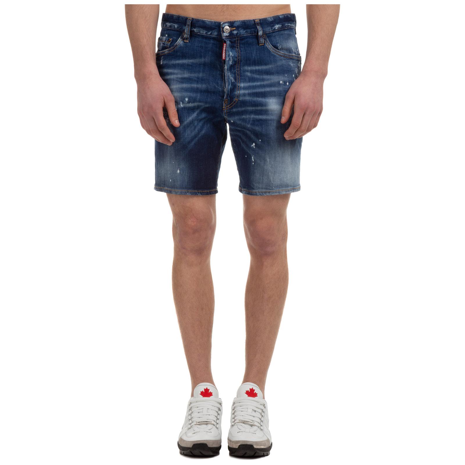 Dsquared2 Shorts MEN'S SHORTS BERMUDA DEAN&DAN