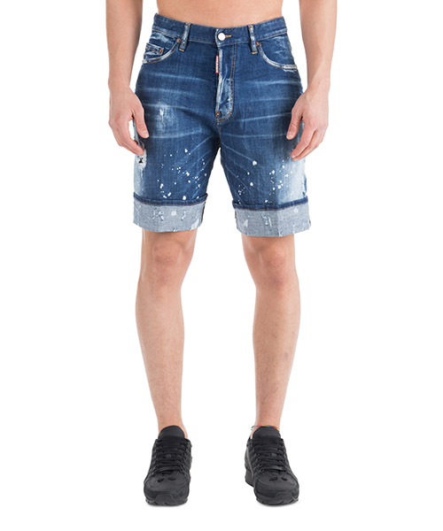Short Dsquared2 S71MU0517S30342470 blu