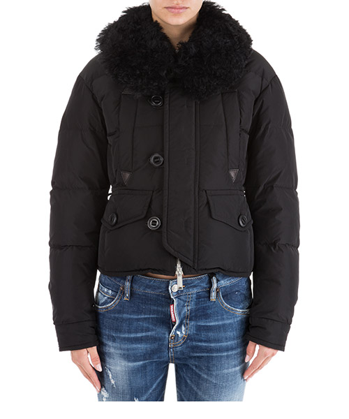 Down jacket Dsquared2 S72AM0658S45346900 nero