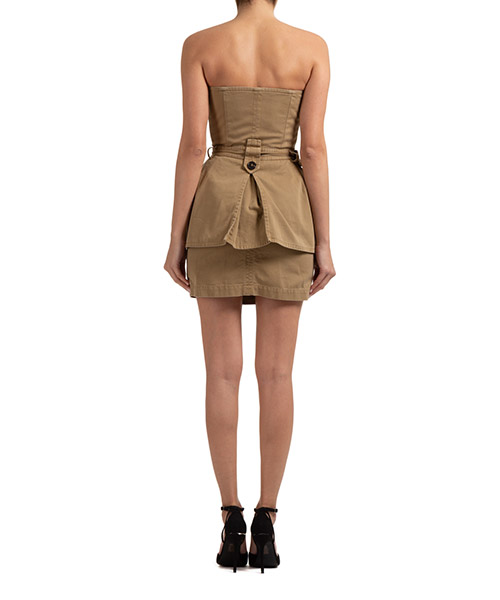 Women's short mini dress sleeveless secondary image