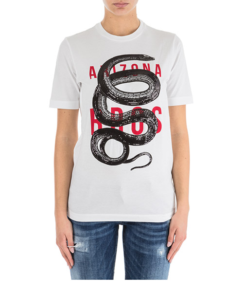 T-shirt Dsquared2 S72GD0111S22427100 bianco