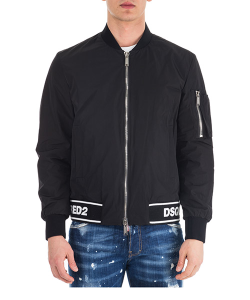 Bomber Dsquared2 Boxy S74AM0832S47858900 black