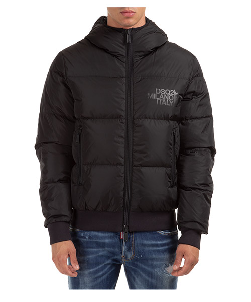 Down jacket Dsquared2 S74AM1085S53140900 nero