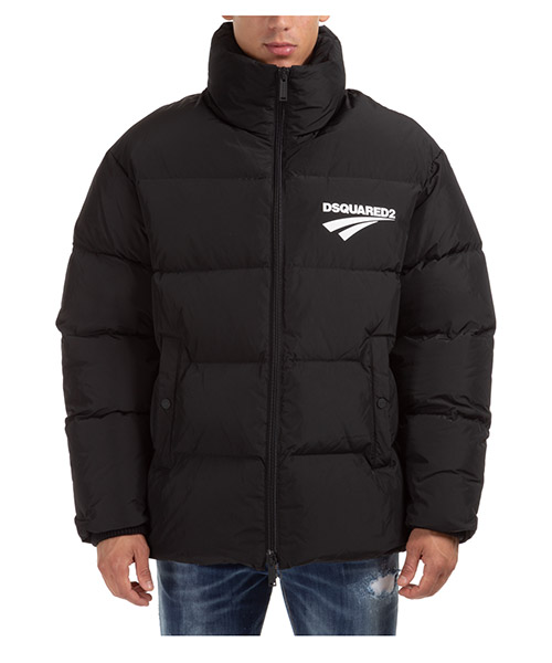 Down jacket Dsquared2 Flash logo S74AM1100S53141900 nero
