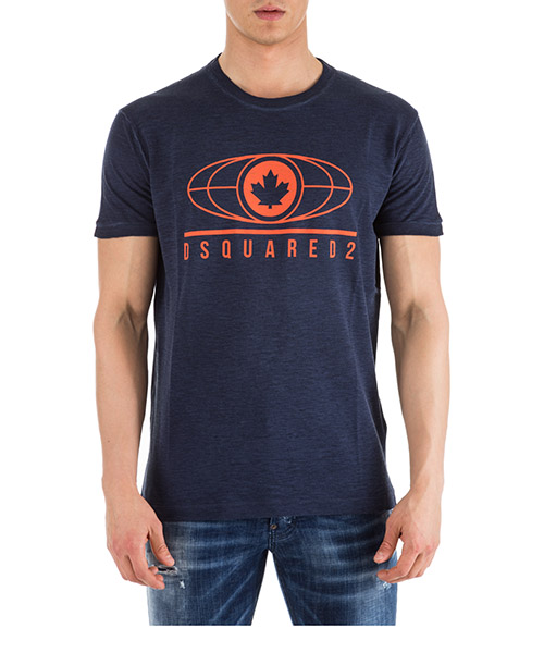 T-shirt Dsquared2 S74GD0440S22146478 blu