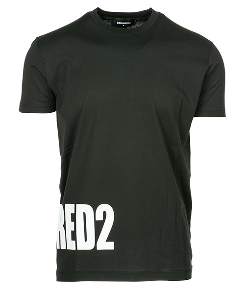 T-shirt Dsquared2 S74GD0463S22427900 nero