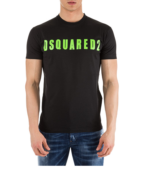 T-shirt Dsquared2 Logo S74GD0488S22427985X nero