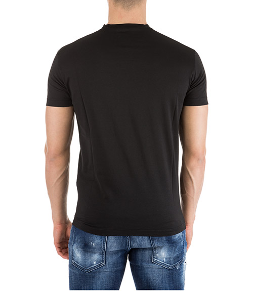Men's short sleeve t-shirt crew neckline jumper logo secondary image