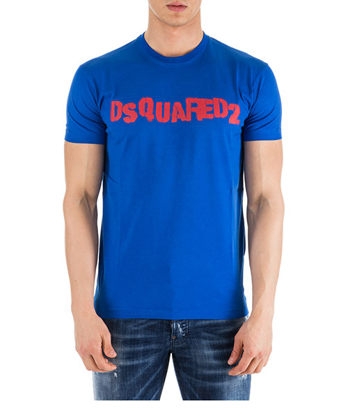 T-shirt Dsquared2 S74GD0494S22427476 blu
