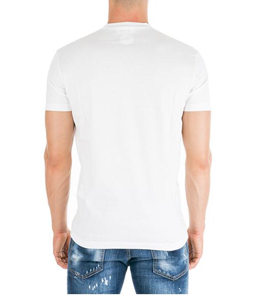 Camiseta de manga corta cuello redondo hombre tape secondary image
