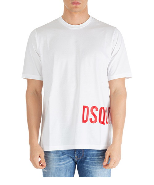 T-shirt Dsquared2 s74gd0567s22427100 bianco
