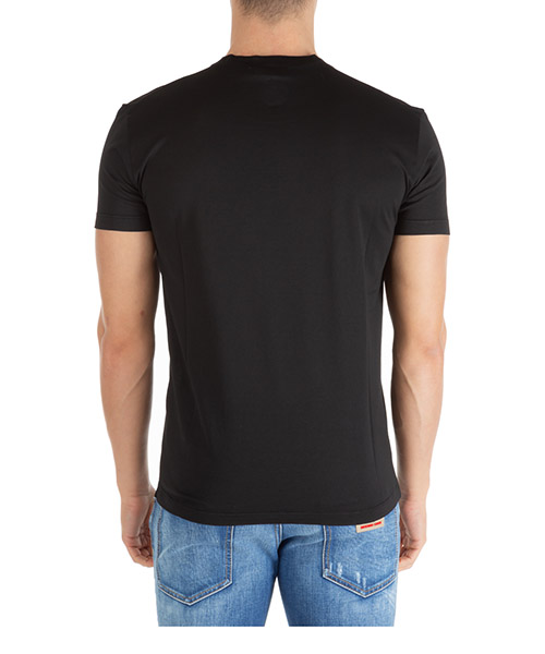 Camiseta de manga corta cuello redondo hombre double logo secondary image