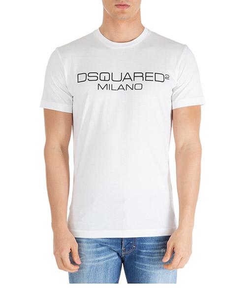 Camiseta Dsquared2 dsquared2 milano s74gd0644s22844100 bianco
