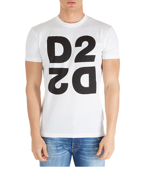 Camiseta Dsquared2 d2 s74gd0704s22427963x bianco