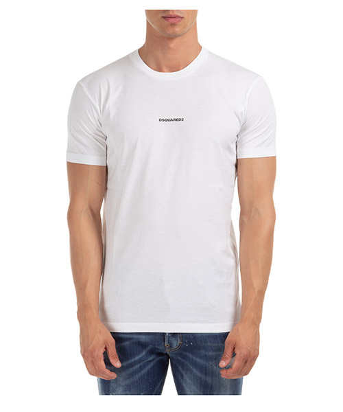T-shirt Dsquared2 S74GD0769S23009100 bianco