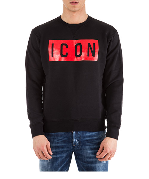 Sweatshirt Dsquared2 Icon S74GU0312S25030900 nero