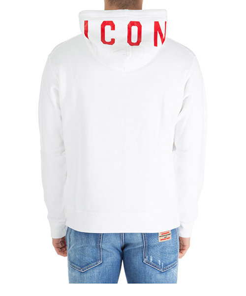 Hoodie Dsquared2 icon s74gu0353s25042969 bianco