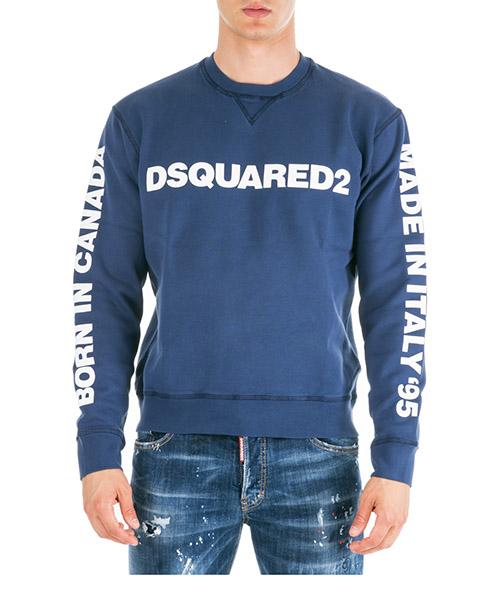 Sweatshirt Dsquared2 S74GU0359S25030477 blu