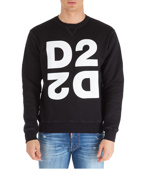 Sweatshirt Dsquared2 d2 s74gu0390s25042900 nero