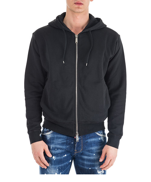 Hoodie Dsquared2 Cool Fit S74HG0059S25030900 nero