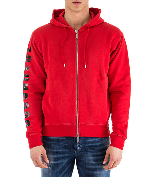 Hoodie Dsquared2 Logo S74HG0062S25030307 rosso