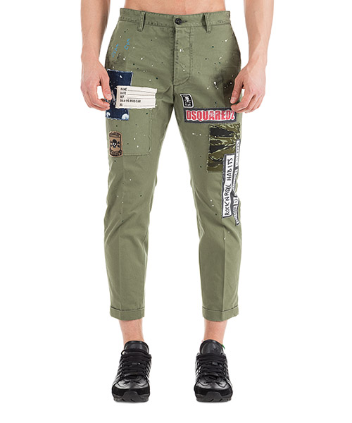 Hose Dsquared2 Chino S74KB0239S41794702 verde