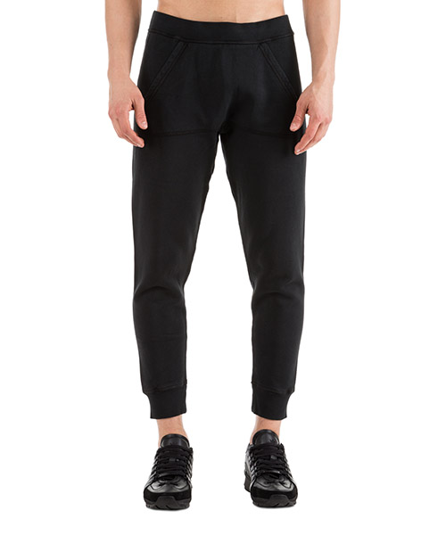 Sport trousers  Dsquared2 Logo S74KB0253S25030900 nero
