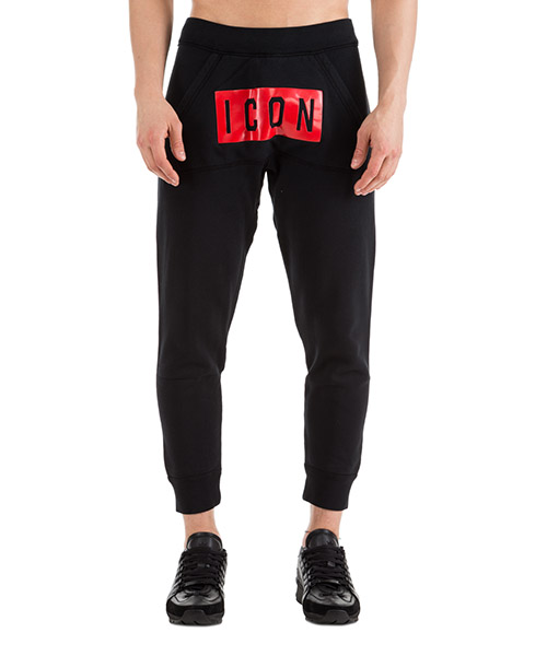 Sport trousers  Dsquared2 Icon S74KB0256S25030900 nero