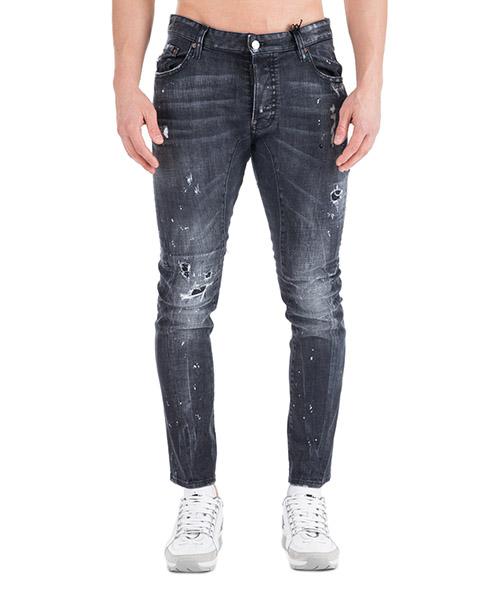 Jeans Dsquared2 Tidy biker S74LB0491S30357900 nero