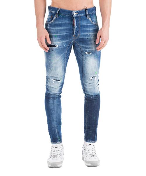 Jeans Dsquared2 Tidy biker S74LB0516S30342470 blu